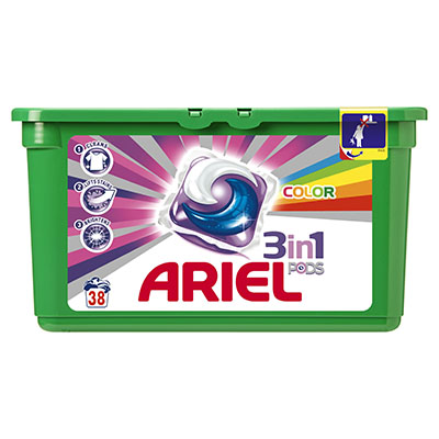 Ariel 3  In 1 Pods Color X38