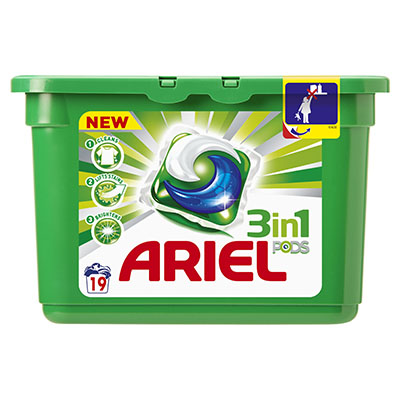 Ariel 3 In 1 Pods Regular X19