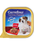 Carrefour Manzo Pate Per Dog Adult 300 Grms