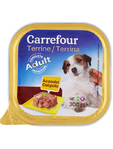 Carrefour Dog Food Terrine Adult Pate Chicken 300 Grms