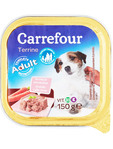 Carrefour Veal & Carrot Dog Food 150 G