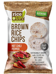 Rice Up Rice Chips Hot Chilli Pepper 60 G