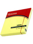 Optima Sticky Notes Neon Yellow 100 P