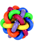 Trixie Knotted Ball Natural Rubber 1 P