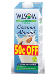 Valsoia Coconut Almond 50c Off 1.00 Ltr