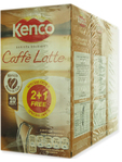 Kenco Caffe Latte 8 Mug Servings 2 + 1 Free 3 P