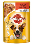 Pedigree Pouch Adult Beef In Jelly 100 G