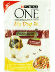 Purina One My Dog Is Food Lover Turkey & Carrots 100 G