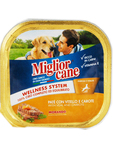 Miglior Cane Wet Food With Veal & Carrots 300 Grms
