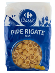 Carrefour Pipe Rigate 500 G