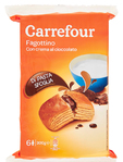 Carrefour Carrfour Fagottini With Cacao X 6 50 G