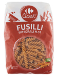 Carrefour Fusilli Wholemeal N.28 500 G