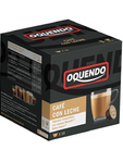 Oquendo Capsules Decaf With Milk X 16 Pcs.