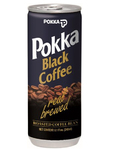 Pokka Black Coffee With Sugar 240 Ml
