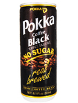 Pokka Black Coffee No Sugar 240 Ml
