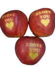 Apples I Love You Valentines