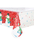 Xmas Holly/santa Table Cover