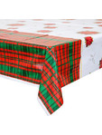 Xmas Poinsettia Table Cover