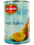 Del Monte Light Peach Halves 400gr