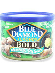 Blue Diamond Almonds Bold Wasabi & Soy Sauce 150gr