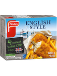 Findus English Style Battered Cod 480g