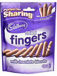 Cadbury Mini Fingers Pouches 125g