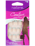 Nailene Couture Design Nails Silver