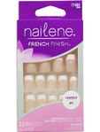 Nailene French Finish Comfort Fuzzy Pink