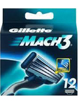 Gillette Mach3 Cartridges X12