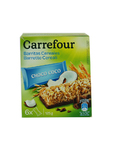 Carrefour Cereal Bars Chocolate & Coconut X6 125g