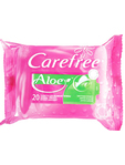 Carefree Intimate Wipes Aloe X20