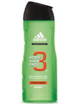 Adidas Body/hair/face Active Start 3 300ml