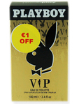Playboy Eau De Toilette Vip 100ml €1.00 Off
