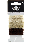 Elite Hair Acc Assorted Terry Bands