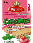 Bg Line Stevia Wafers Strawberry 90g