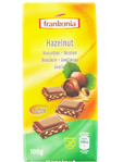 Frankonia Hazelnut Chocolate 100g