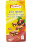 Frankonia Whole Hazelnuts Chocolate 100g