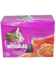 Whiskas Meat Selection Box 12x100g