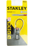 Stanley Padlock S Cabel Combinaion 3 Dig