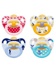 Nuk Happy Kids Soothers Boys 18-36m  X2