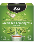 Yogi Green Tea Lemongrass X12