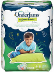 Pampers Under Jams Pyjama Pants 4-8 X10