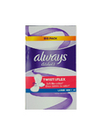 Always Twist & Flex Large Pantyliners X48