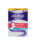 Always Twist & Flex Normal Pantyliners X58