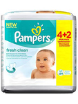 Pampers Wipes Mega Fresh X6 64