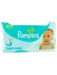 Pampers Wipes Fresh Clean X64