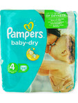 Pampers Baby Dry 4 Maxi X25