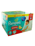 Pampers Jumbo Pants 5 Junior 12-18kg X64