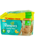 Pampers Mega+ Baby Dry 4+ Maxi Plus X92