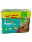 Pampers Jumbo 6 Extra Large X64